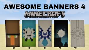 Minecraft Banner Patterns Amazing ✓ 488 AWESOME MINECRAFT BANNER DESIGNS WITH TUTORIAL 48 YouTube