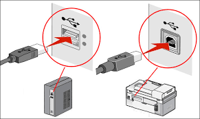 lexmark united states how do i setup my replacement or exchange verify the connection of the usb cable to both printer and computer click image to enlarge it