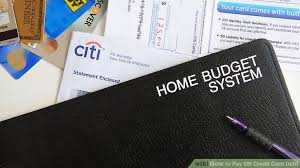 Using A Credit Card To Pay Off A Credit Card How To Pay Off Credit Card Debt 13 Steps With Pictures