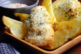 Oven Baked Fish and Chips Recipe - Food.com