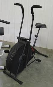 fan exercise bike. lot # : 3a - lifestyler dt1000 black exercise bike w/fan fan n