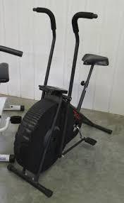 fan exercise bike. lot # : 3a - lifestyler dt1000 black exercise bike w/fan fan n