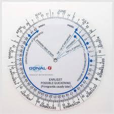 Pregnancy Due Date Wheel