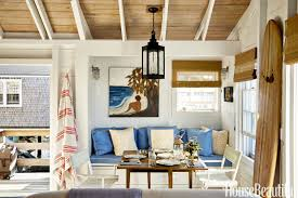 Decorations:Luxury Beach House Decorating Idea With Ceiling Lights And  Colonial Living Room Furniture Beach