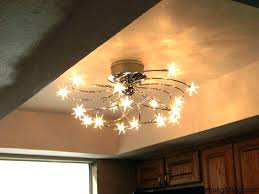 wireless led ceiling light battery operated lights with remote control white set cordless motion sensor powered
