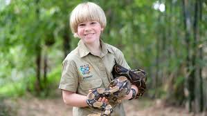 steve irwin son. like father son young bob irwin. photo: discovery networks asia steve irwin v