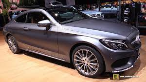 Test drive mercedes s 500 4matic w223: 2017 Mercedes C200 4matic Coupe Exterior And Interior Walkaround 2016 Paris Motor Show Youtube