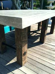 concrete and wood coffee table outdoor concrete furniture for large size of coffee wood coffee