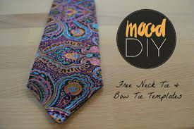 Mood Diy How To Sew A Mens Tie Bow Tie Mood Sewciety