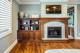 built in cabinetry bookcases mudroom fireplace mantel buffalo wny family