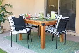 How To Build A Diy Outdoor Table Diy Done Right