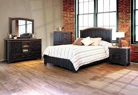 Distressed Wood Bedroom Set Black Distressed Bedroom Furniture ...