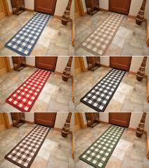 Rubber Mats For Kitchen Floor Details About Non Slip Rubber Backing Long Narrow Hall Rugs