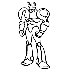Small Picture Coloring Page Pages Draw Robots mosatt