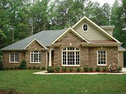 Brick Ranch House Plans Brick One Story House Plans  all brick    Brick Ranch House Plans Brick One Story House Plans