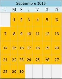 Calendario Y Cronograma