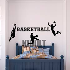 Small Picture Aliexpresscom Buy Wall Decal Basketball Dunk Basketball Design