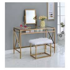 vanity table. Iohomes Burdette Contemporary Vanity Table Set