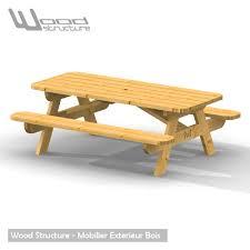 Table Pique Nique Table De Jardin Wood Structure Table Pique Nique 6 Personnes