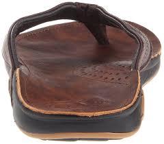 Reef Mens J Bay Flip Flop Dark Brown Shoes Flops Thongs
