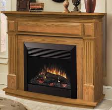 awesome dimplex electric fireplace with wooden mantle