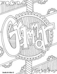 Small Picture Language Arts Coloring Pages and Printables Classroom Doodles
