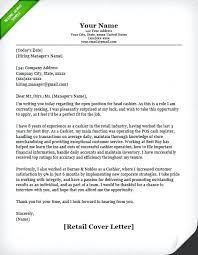 Cover Letter For Part Time Job In Retail Cover Letter Samples Jobs