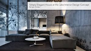 Simply Elegant Home Designs Simply Elegant House At The Lake Interior Design Concept By