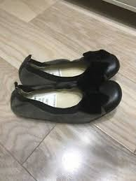 Naturino Shoes Size Chart Details About Naturino Girls Ballet Flat Shoes 100 Leather Suede Size 30 Nwob