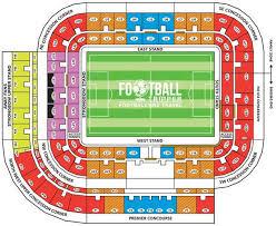 Sunderland Empire Seating Chart Stadium Of Light Sunderland A F C Guide Football Tripper