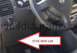 opel zafira 2002 fuse box diagram diagram vauxhall vectra fuse box layout 2006 fuse box opel vauxhall zafira a