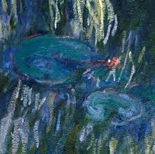 water lilies 1916 detail by claude monet
