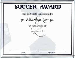 Soccer Certificate Templates For Word Soccer Certificate Templates Amazing Soccer Certificate Templates