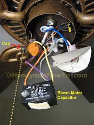 wiring diagram for ceiling fan 3 speed switch the wiring diagram how to replace a ceiling fan motor capacitor wiring diagram