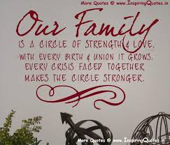 Famous Quotes About Family Gorgeous Famous Quotes On Family Inspiring Quotes Inspirational