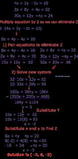 systems of equations elimination method worksheet new how to solve systems of 3 variable equations using