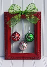 ribbon red hanging photo wall art picture frame decorations picture frame decorating ideas beautiful red frame with green