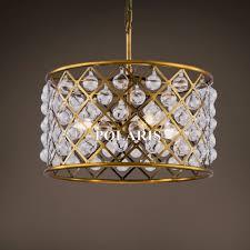 Antique Brass Pendant Light Fixtures Vintage Crystal Chandelier Lighting Antique Brass Pendant Lamp Chrome Hanging Light Chandeliers Lamp For Home Decor