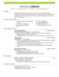 Free Resume Builder Online Resumes No Cost Download Software