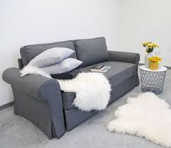 backabro 3 seat ikea sofa bed cover