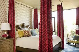 Ceiling Mounted Bed Canopy - Eclectic - bedroom - Taylor Borsari