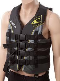Oneill Mens Superlite Life Vest Nylon Us Coast Guard Approved Lifejacket