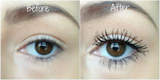 l oreal false lash telescopic mascara before and after