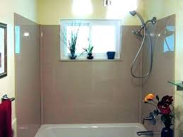shower wall options showers shower walls materials wall options migrant resource network material solid surface home