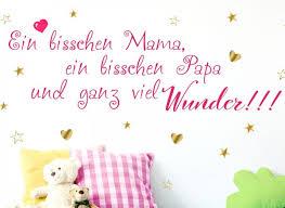 Wandtattoo 2 Farbig Spruch Ein Bisschen Papa W5432