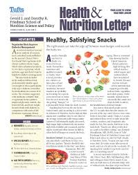 tufts health and nutrition letter front cover