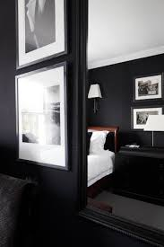 Stephen Ryan Design Decoration black bedroom designed by Stephen Ryan photographed by James 49