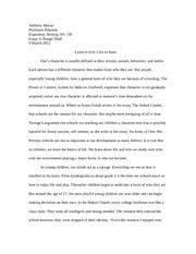 essay anthony musso professor peterson expository writing 5 pages essay 3