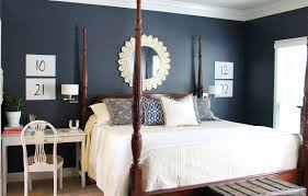 Navy Blue Master Bedroom Same Furniture New Room Our Fifth House
