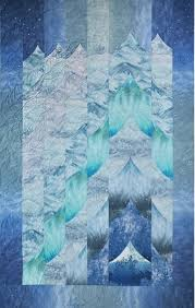 398 best Glacier quilt images on Pinterest | Knitting tutorials ... & Glaciers of the Inside Passage Quilt Kit! Lisa Moore Quilts with Adamdwight.com